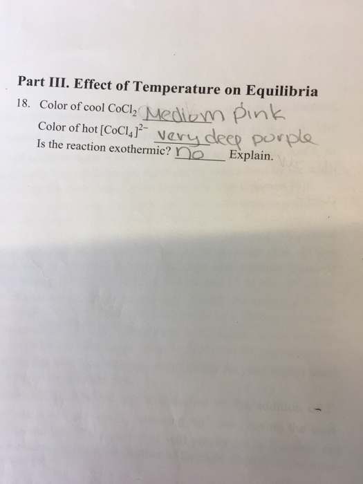 Solved: Is The Reaction Exothermic? Explain. What Is The E ...