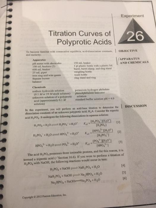 acid base titration curve lab report