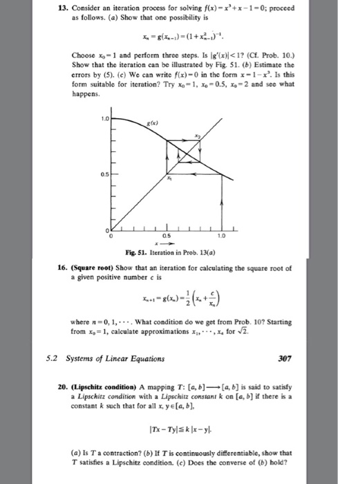 solved consider on iteration process for solving f x x