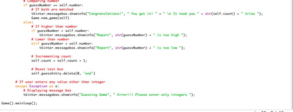 Please Fix Code Below So 9 21 Will Work And When E    | Chegg com