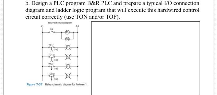 Design A PLC Program B&R PLC And Prepare A Typical...   Chegg.com