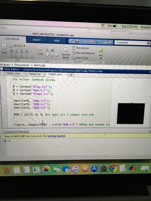 MatLab Question --- I'm Trying To Put These Separa
