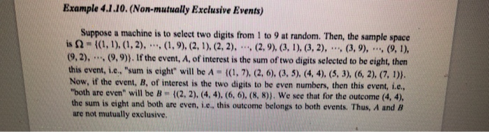Solved Example 4110 Non Mutually Exclusive Events Su