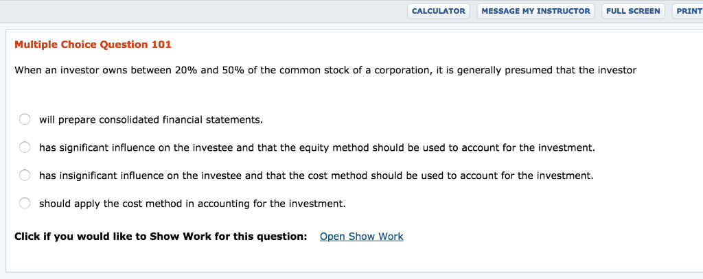 For accounting purposes what determines the method used to account for investments in common shares allianz index select capital investments