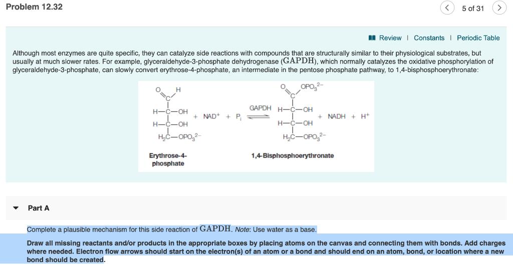 Solved: Problem 12 32 5 Of 31 Review L Constants I Periodi
