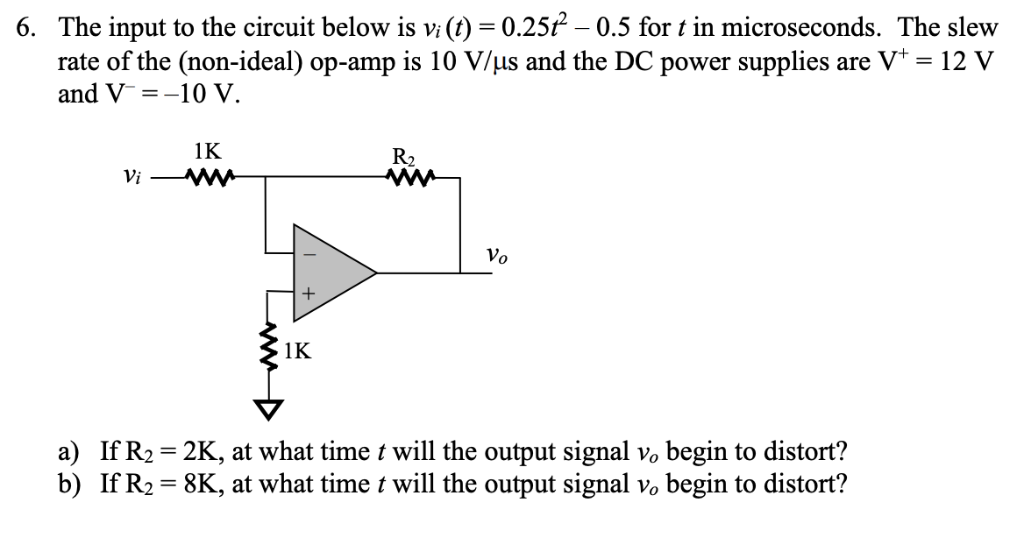 Solved: The Input To The Circuit Below Is V() 0 25? -0 5 F