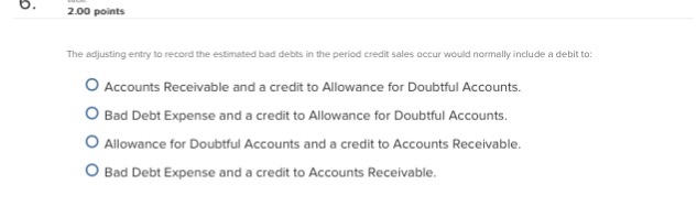 how to find credit sales during period accounts receivable doubtful
