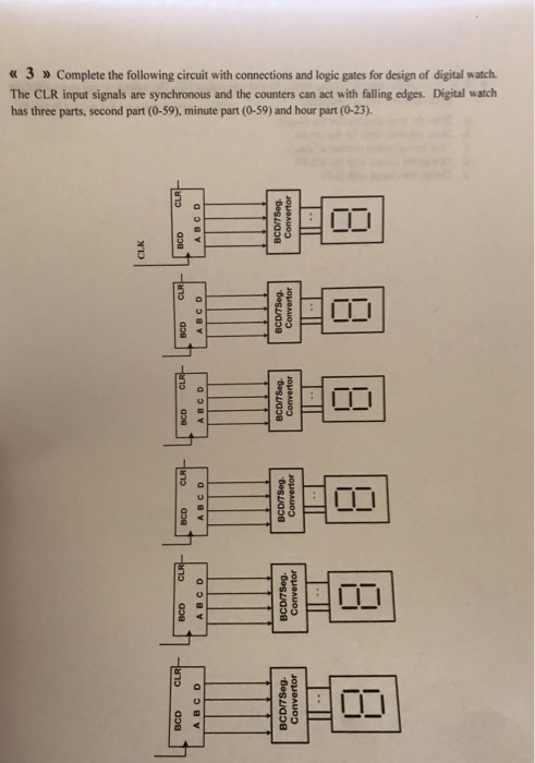 Solved 3 Complete The Following Circuit With Connections
