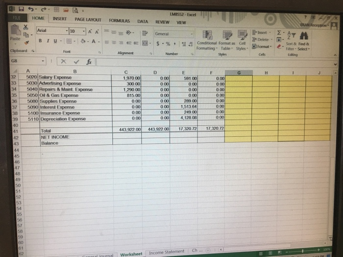 29+ A byte of accounting inc worksheet Images