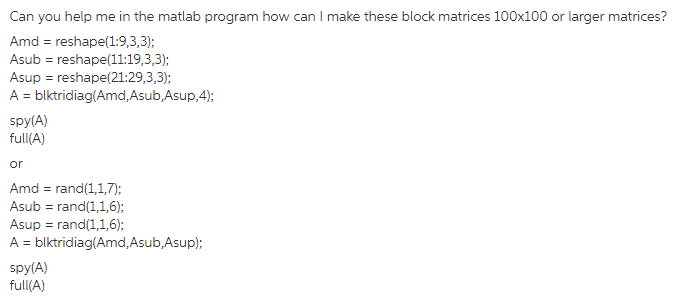 Solved: Can You Help Me In The Matlab Program How Can I Ma