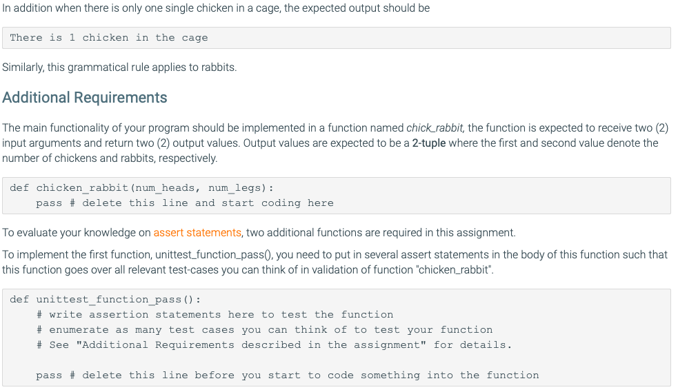 Solved: I Need This For Python, And Need It To Pass Specif