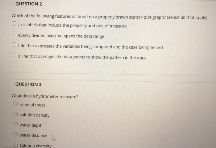 Solved: QUESTION 2 Which Of The Following Features Is Foun