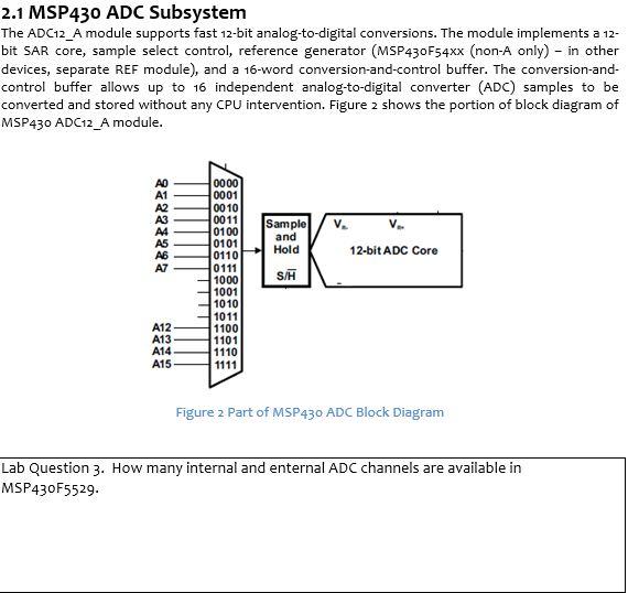 Msp430 Adc