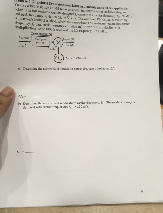 Solved: TPUBlem 2 (20 Points) Evaluate Numerically And Inc