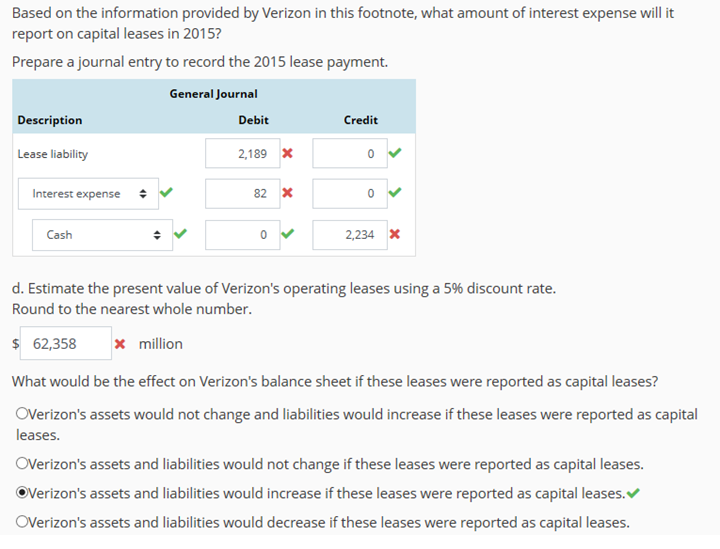 Estimate Lease Payment >> Solved Click Here To Review Learning Objectives Question