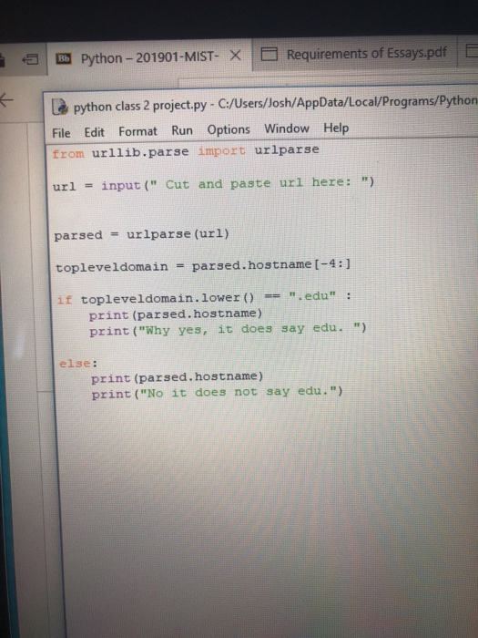 Solved: For This Assignment, You Will Be Taking The Code Y