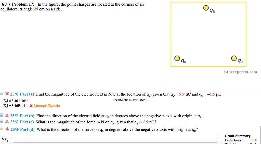 6 Problem 17 In The Figure Point Charges Are Located