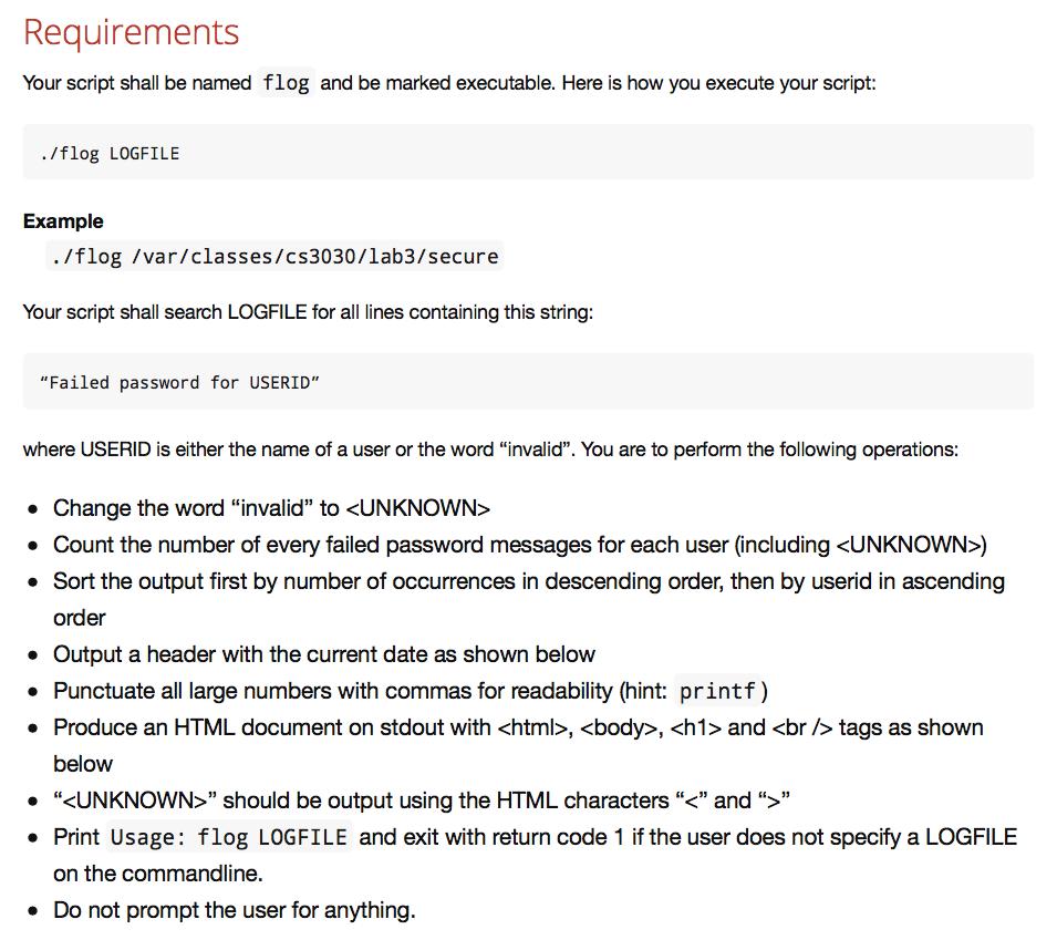 Solved: I Need To Write A VIM UNIX/Linux Commandline Progr