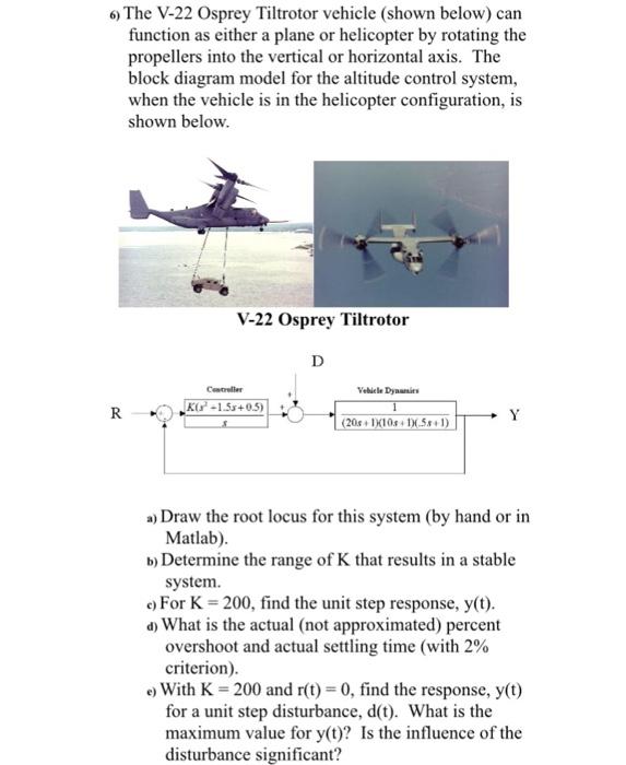Strange The V 22 Osprey Tiltrotor Vehicle Shown Below Ca Chegg Com Wiring Cloud Hisonuggs Outletorg