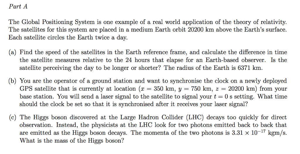 global positioning system examples