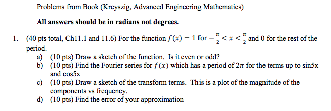 engineering mathematics solved problems