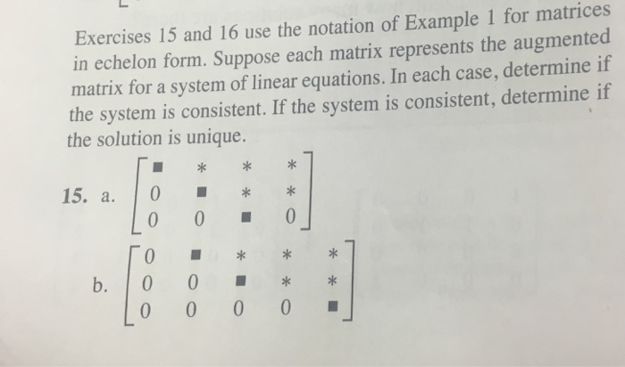 Solved: Exercises 15 And 16 Use The Notation Of Example 1 ... | Chegg.com