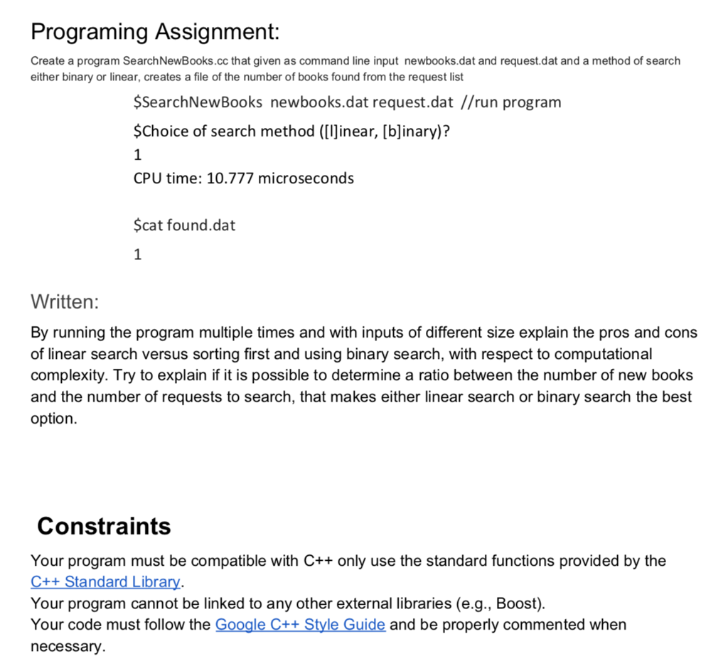 Solved: Program Description Introduction You Are Helping T