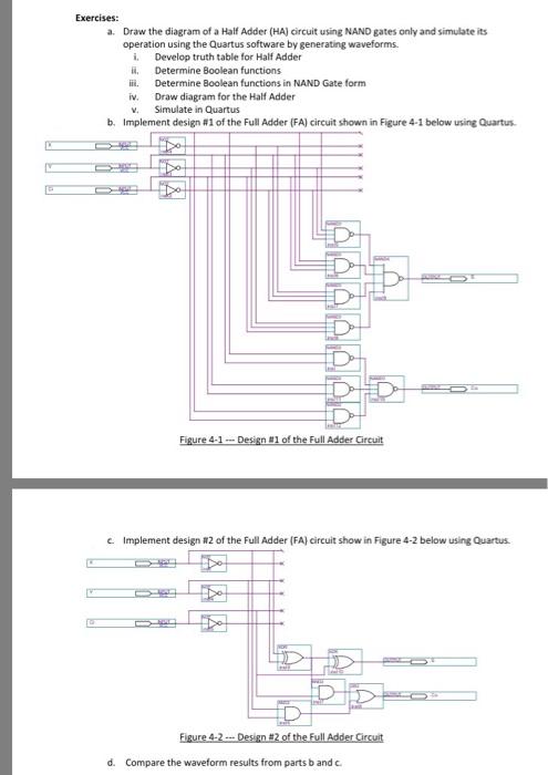 Prime Solved Draw The Diagram Of A Half Adder Ha Circuit Usin Wiring Database Plangelartorg