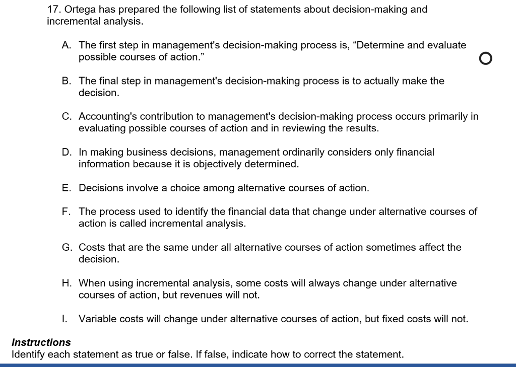 what is the first step in decision making process