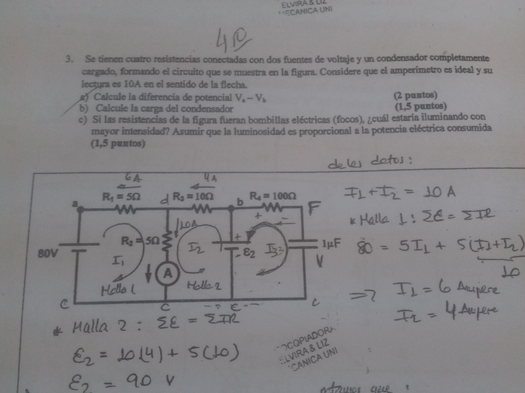 Solved There Are Four Resistors Connected With Two Voltag Light Bulb Is In The Circuit Shown Cheggcom Elvira Liz Ecanica Uni 3 Se Tienen Cuatro Resistencias Conectadas Con Dos Fuentes De