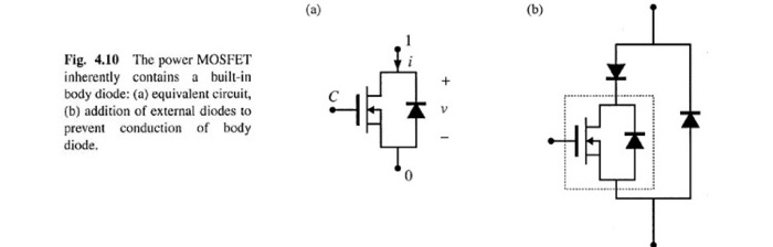 Solved Two Mosfets Are Employed As Current Bidirectional Chegg Com