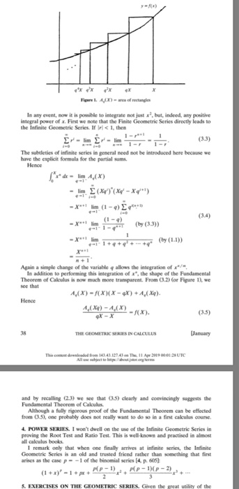 Proof The Fundamental Theorem Of Calculus Using Th