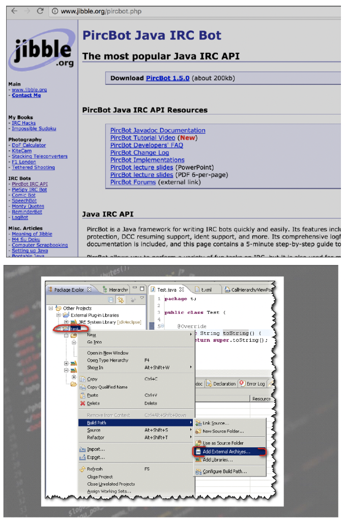 Top 5 nodas classes of the java api | download table.