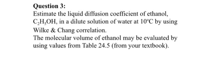 liquid diffusion coefficient