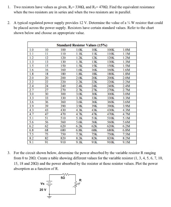 solved two resistors have values as given, r_1 \u003d 330 ohm smps circuit board class b amplifier and the class b