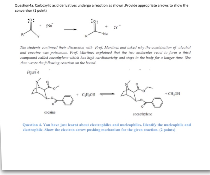Solved Carboxylic Acid Conversion Mechanism Idenfiticaio