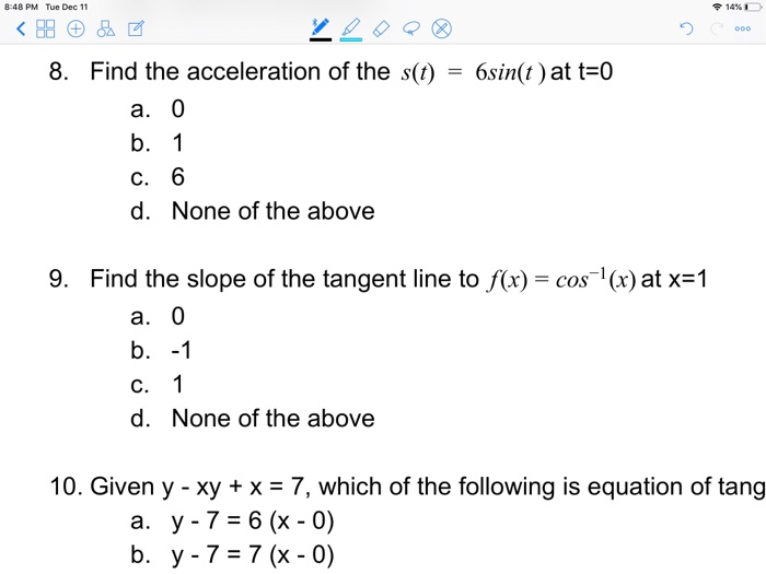 what does tangent mean