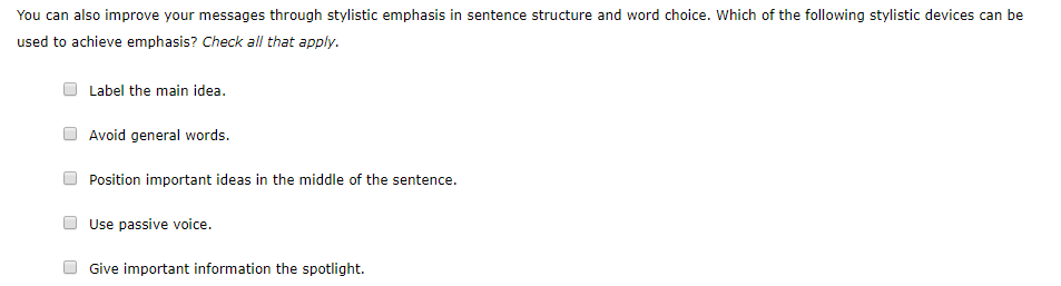 why is sentence structure important