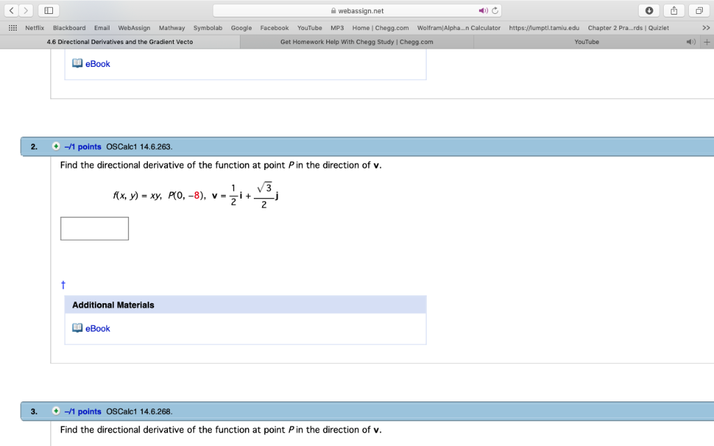 Solved: ED A Webign.net ○山 Netflix Blackboard Email We ... on