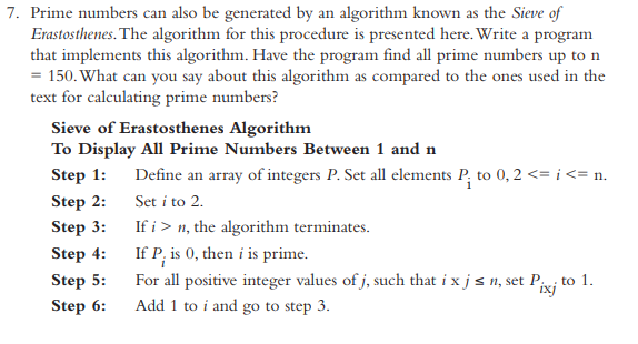 Solved: Note: Solve It With C++ Programing, Not C  Prime N