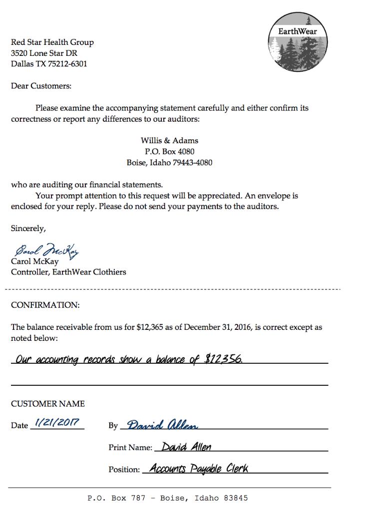 Accounts Receivable Letter To Customer from media.cheggcdn.com