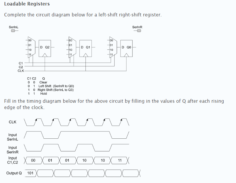 Pleasing Solved Loadable Registers Complete The Circuit Diagram Be Wiring Digital Resources Otenewoestevosnl