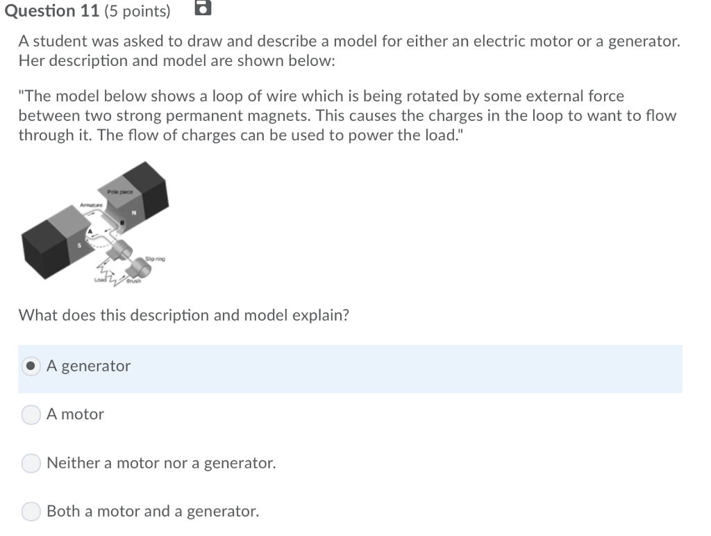 Solved Question 11 5 Points A Student Was Asked To Draw