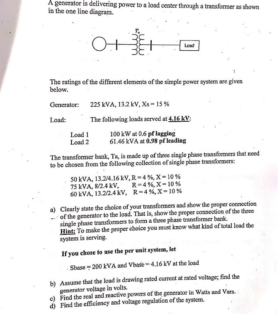 225 Kva Transformer Wiring Diagram - Wiring Diagrams Place