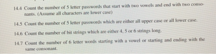 solved: 14.4 count the number of 5 letter passwords that s