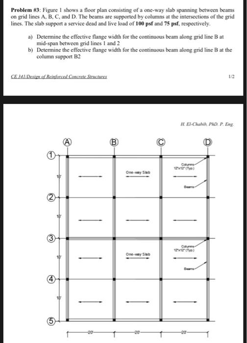 Solved: Problem #3: Figure I Shows A Floor Plan Consisting