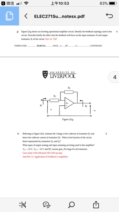 Solved: 上午10:53 83% KELEC271su   notesx pdf G Figure01g