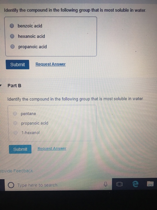 Solved: Identify The Compound In The Following Group That ...