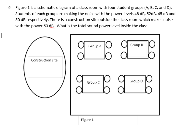 Solved: Figure 1 Is A Schematic Diagram Of A Cl Room Wi ... on