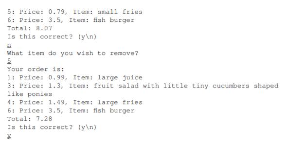 79 Item Small Fries  5